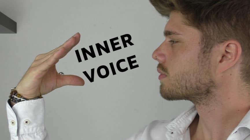 Kontrolliere deine innere Stimme und bekomme eine gute Persönlichkeit