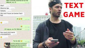 Tinder Textgame Beispiel