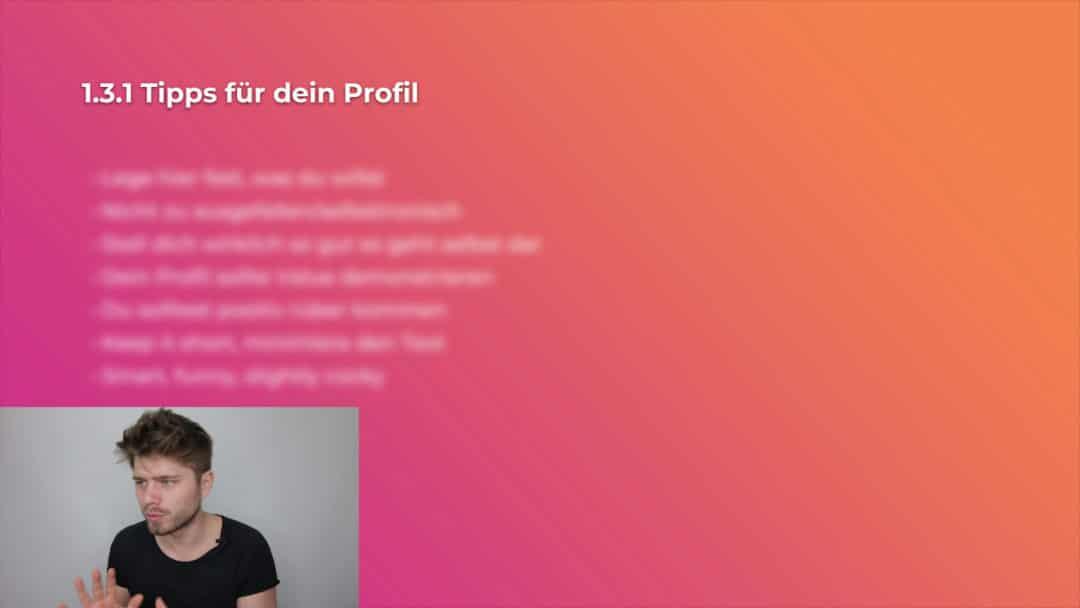 Tinder Perfektioniere dein Profil Tipps-Screenshot - Swipe To Lay