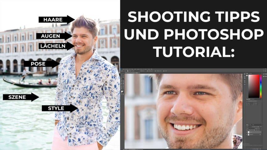 Das perfekte Profilbild für Tinder, Lovoo, Whatsapp und Co (mit Photoshop Tutorial)