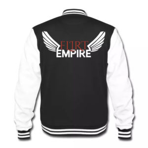 Flirt Empire Gang Collegejacke - Rücken