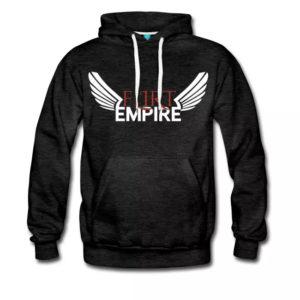 Flirt Empire Premium Hoodie Männer Front